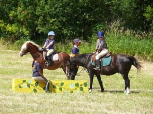 Summer Riding Camp with Jenny Payne at Pyramid Stables, Lantzville, BC